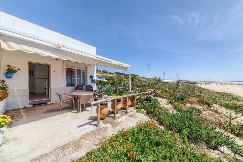 Apartamento 3 - Terraza - Apartamentos Patio Andaluz - Playa de La Fontanilla (Conil)