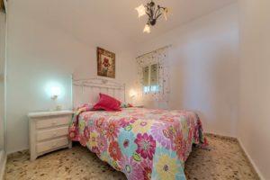 Apartamento 3 - Dormitorio Principal - Apartamentos Patio Andaluz - Playa de La Fontanilla (Conil)
