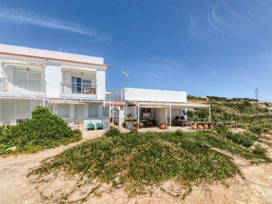 Vistas desde de la Playa - Apartamentos Patio Andaluz - Playa de La Fontanilla (Conil)