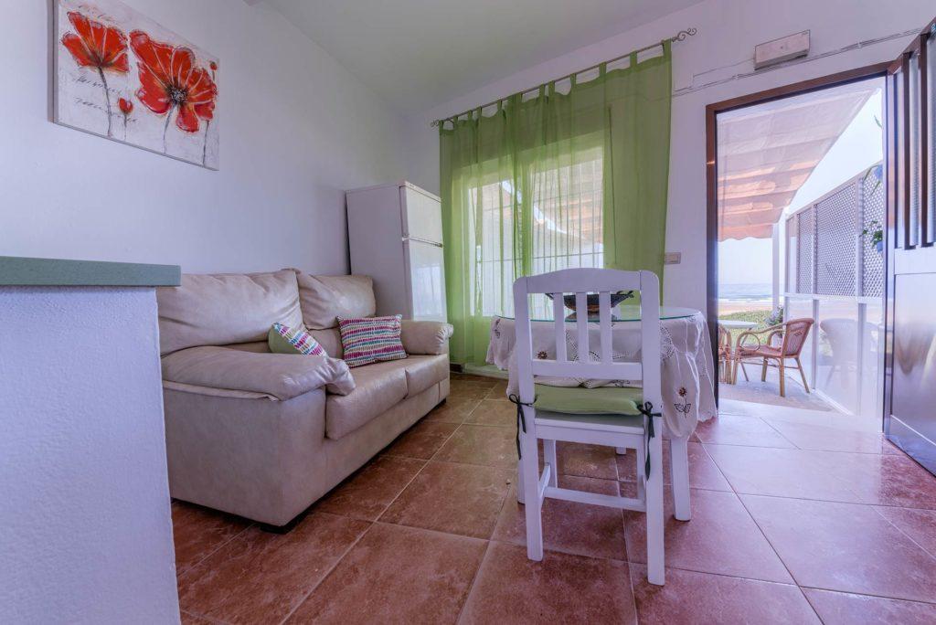 Apartamento 2 - Salón - Apartamentos Patio Andaluz - Playa de La Fontanilla (Conil)