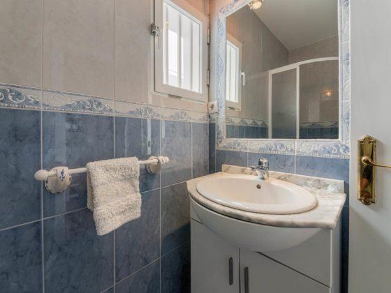 Apartamento 2 - Lavabo - Apartamentos Patio Andaluz - Playa de La Fontanilla (Conil)
