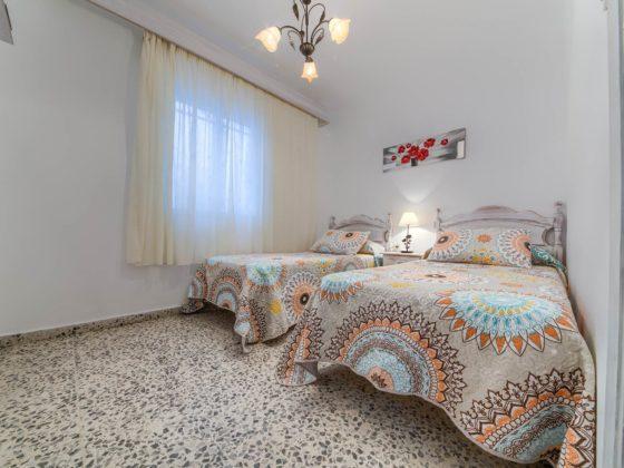 Apartamento 5 - Dormitorio 2 Camas - Apartamentos Patio Andaluz - Playa de La Fontanilla (Conil)