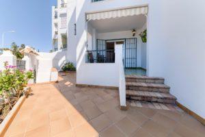 Apartamento Atalaya - Vista Entrada - Apartamentos Patio Andaluz - Playa de La Fontanilla (Conil)