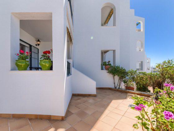 Apartamento Atalaya - Vista Exterior - Apartamentos Patio Andaluz - Playa de La Fontanilla (Conil)