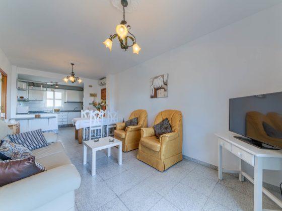 Apartamento Atalaya - Salón - Apartamentos Patio Andaluz - Playa de La Fontanilla (Conil)