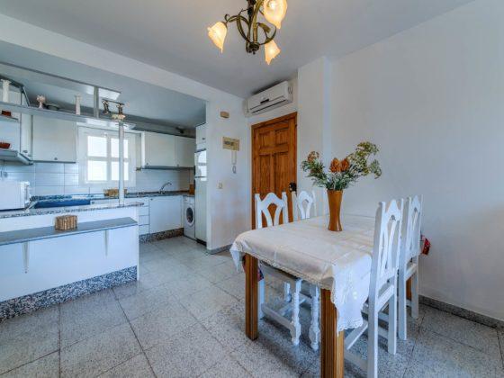 Apartamento Atalaya - Office y Cocina - Apartamentos Patio Andaluz - Playa de La Fontanilla (Conil)