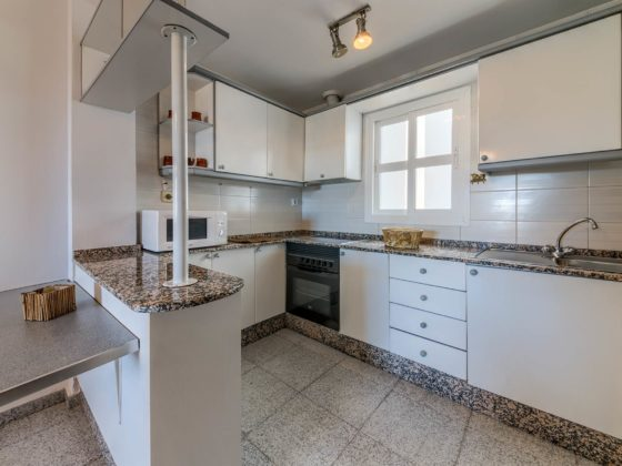 Apartamento Atalaya - Cocina - Apartamentos Patio Andaluz - Playa de La Fontanilla (Conil)