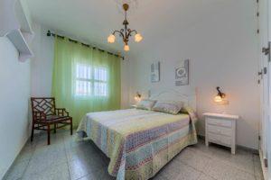 Apartamento Atalaya - Dormitorio Principal - Apartamentos Patio Andaluz - Playa de La Fontanilla (Conil)