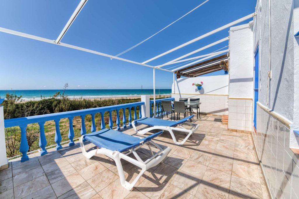 Apartamento Huerto - Hamacas en Terraza - Apartamentos Patio Andaluz - Playa de La Fontanilla (Conil)