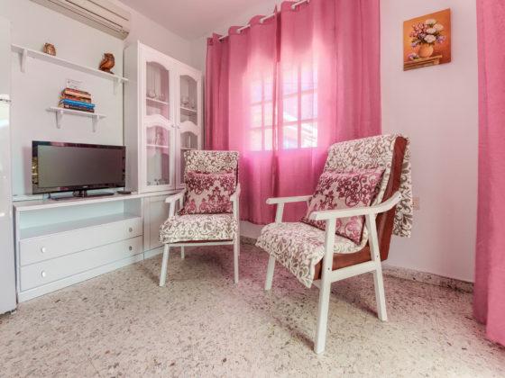 Apartamento 1 - Butacas - Apartamentos Patio Andaluz - Playa de La Fontanilla (Conil)