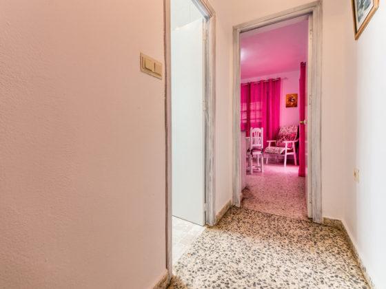 Apartamento 1 - Corredor - Apartamentos Patio Andaluz - Playa de La Fontanilla (Conil)