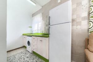 Apartamento 1 - Cocina - Apartamentos Patio Andaluz - Playa de La Fontanilla (Conil)