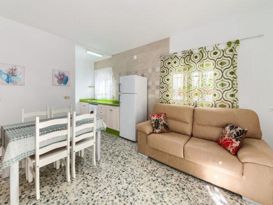 Apartamento 1 - Salón - Apartamentos Patio Andaluz - Playa de La Fontanilla (Conil)