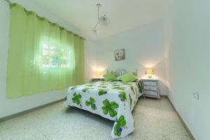 Apartamento 1 - Dormitorio Principal - Apartamentos Patio Andaluz - Playa de La Fontanilla (Conil)
