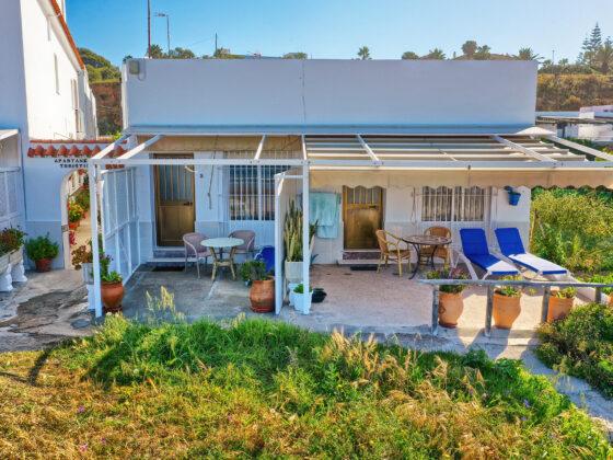Vista Exterior de Apartamentos Patio Andaluz - Playa de La Fontanilla (Conil)
